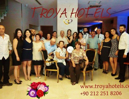 Celebrate your special day in Troya Hotel
